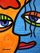 Eyes Painting Originals - Ready to Tango by Steven Scott