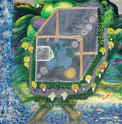 Reality. An Ambrosial Metaphysical Or Mortal Universe Print by Lisa Kramer