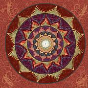 Mandala Digital Art - Realm of the Desert Lotus Mandala by Elizabeth Alexander
