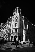 Liverpool Prints - Rear Entrance To The The Port Of Liverpool Building One Of Liverpools Three Graces Listed Buildings  Print by Joe Fox
