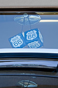 Rear View Mirror Prints - Rear View Mirror Dice Print by Jill Reger