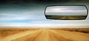 View Digital Art - Rear View Mirror by Leland Howard