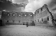 Ammochostos Prints - Rear Walls Of The Old Palazzo Del Provedittore Royal Palace Entrance In The Old Town Of Famagusta Print by Joe Fox