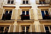 France Photo Originals - Rear Window by Cabral Stock