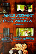 Rear Window Prints - Rear Window, Grace Kelly, James Print by Everett