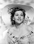 1940 Movies Metal Prints - Rebecca, Joan Fontaine, 1940 Metal Print by Everett