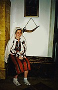 Folk Art Photos - Rebekah in Romania by Sarah Loft
