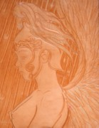 Fall Reliefs Prints - Rebel Angel Print by Ron Moses