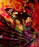 Abstract Insect Prints - reBirth Print by Ken Walker