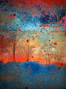 Abstract.trees Prints - Rebirth Print by Tara Turner