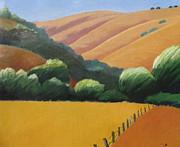 Receeding Hills Print by Gary Coleman