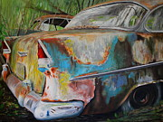 Cruiser Painting Metal Prints - Reclamation Metal Print by Daniel W Green