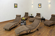 Recliners Framed Prints - Recliner Chairs Framed Print by Jaak Nilson