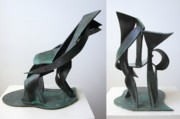 Sculpture Sculptures - Recliner by John Gibbs
