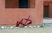 Outdoor Metal Sculpture Art - Recliner by John Neumann
