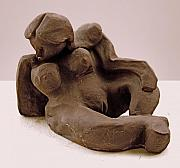 Nudes Sculptures - Reclining Figure by Joe Hindley