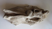 Nude Sculpture Originals - Reclining Nude by Herschel Pollard