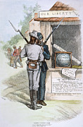 Bayonet Prints - Reconstruction, 1879 Print by Granger