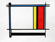 Color Reliefs Originals - Rectangles by Scott Shaver