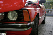 Bmw Racer Photos - Red 323i BMW by Balanced Art