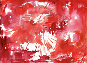 Sean Seal - Red 710 Abstract