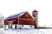 Red - Red Afternoon Barn by Joel Witmeyer