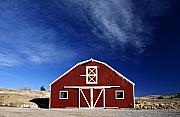 Countryscape Originals - Red and White Barn by Marilyn Hunt