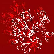 Svetlana Sewell - Red and White Ornaments
