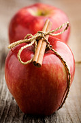 Apple Photos - Red apples by Kati Molin
