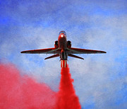 Red Arrow Print by Roy McPeak
