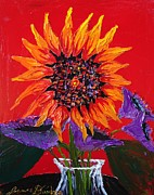 James Dunbar - Red Autumn Sunflower...