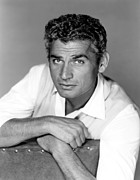 1950s Portraits Prints - Red Ball Express, Jeff Chandler, 1952 Print by Everett
