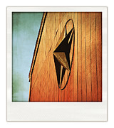 Star Barn Prints - Red Barn Print by HD Connelly