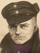 Manfred Richthophen Wwi Framed Prints - Red Baron Framed Print by Maily