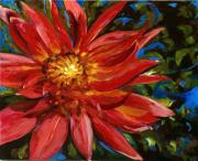 Nature Study Paintings - Red Beauty by Wendi Strauch Mahoney
