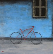 Steven Dopka - Red Bike