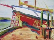 Suzanne  Marie Leclair - Red Boat