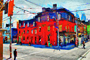 Vincent DiNovici - Red Building on King...