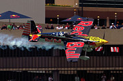 Airshows Photos - Red Bull Air Racing by Bill Lindsay