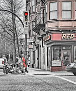 Crosswalk Photos - Red Burrito by Paul W Sharpe Aka Wizard of Wonders