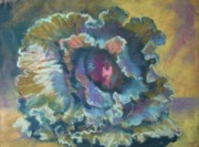 Donna Shortt Prints - Red Cabbage Print by Donna Shortt