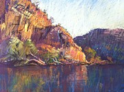 Pretty Pastels - Red Cliffs by Pamela Pretty