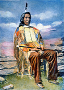 Great Warrior Framed Prints - Red Cloud (1822-1909) Framed Print by Granger