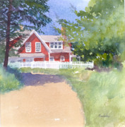 Sheila Psaledas - Red Cottage Monhegan...
