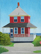 Barbara Nolan - Red Cottage Summer