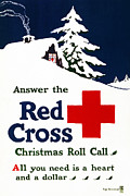 Greenleaf Prints - RED CROSS POSTER, c1915 Print by Granger