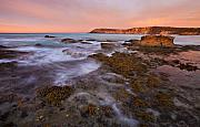 Kangaroo Island Framed Prints - Red Dawning Framed Print by Mike  Dawson