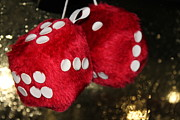 Rear View Originals - Red Dice by Carlton Pecot