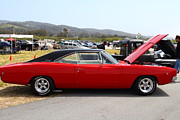 Sportscar Photos - Red Dodge Charger Hotrod . 7D15276 by Wingsdomain Art and Photography