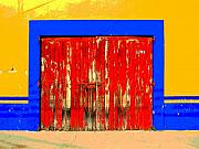 Image Gypsies Photos - Red Door by Darian Day by Olden Mexico
